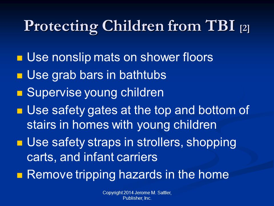 Protecting Children from TBI [2]